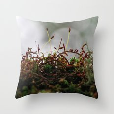 Miniscule World Throw Pillow