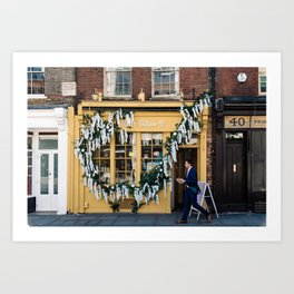 The pastry shop Art Print
