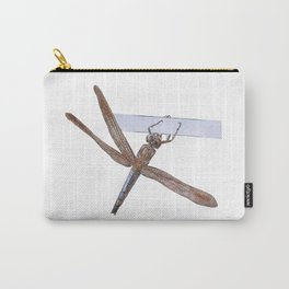 Shy Little Dragonfly Carry-All Pouch