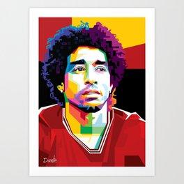 Dante Samba Bahia by FritzG Art Print