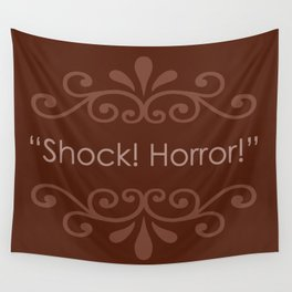 Shock! Horror! Wall Tapestry