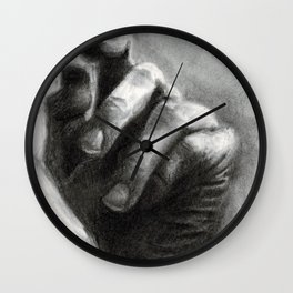Hand sketch Wall Clock