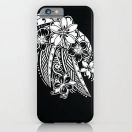 Maui Polynesian Tribal Threads iPhone Case