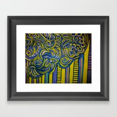 The Walls Have Eyes Framed Art Print