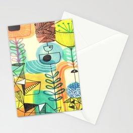 Sketchbook art Retro Design Stationery Cards