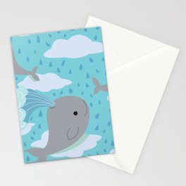The Flying Whales Stationery Cards