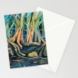 Kingfisher Forest Stationery Cards