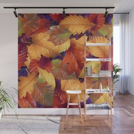 Fallen leaves I Wall Mural