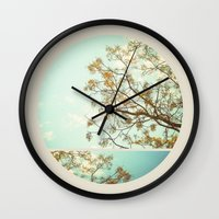 dorothy Wall Clocks featuring Dorothy by Lala Mártin