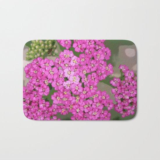 Pretty Pop Pink Bath Mat