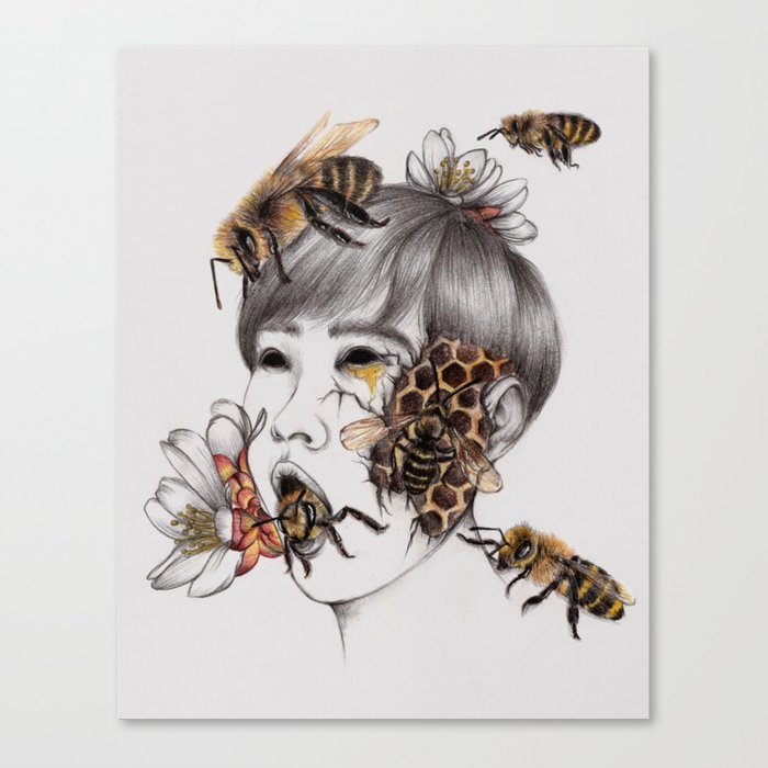 Disease IV Canvas Print