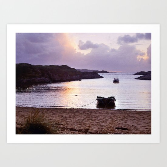 At Ardtoe Art Print