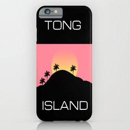 Tong Island iPhone Case