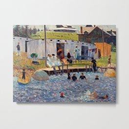 Pierre-Auguste Renoir - The Bathing Hour, Chester, Nova Scotia Metal Print