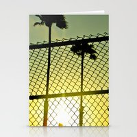 santa monica Stationery Cards featuring Santa Monica by Nicole Dupee