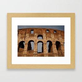 Roman Colosseum Framed Art Print