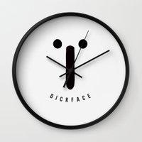DICKFACE Wall Clock
