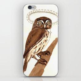 Owl Halo iPhone Skin