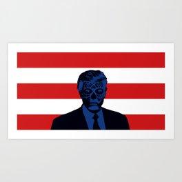Trump Lives Art Print