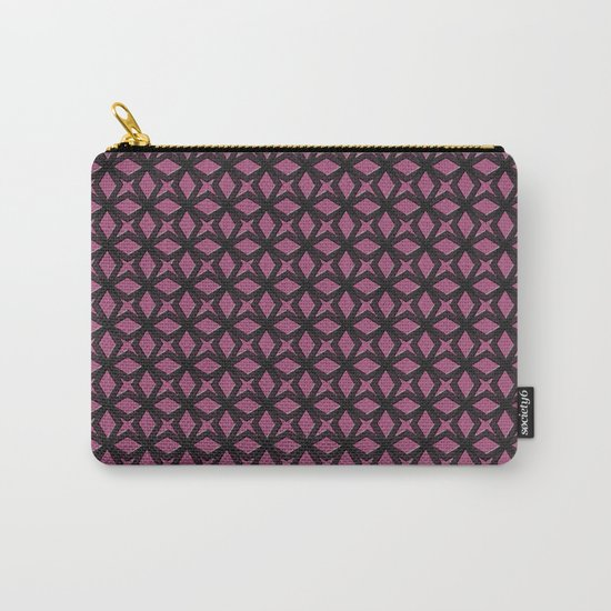 Rose Black Replay Carry-All Pouch