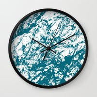stone Wall Clocks featuring Stone by mangulica