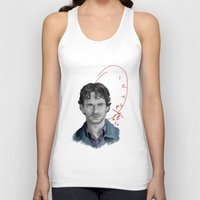 will graham Tank Tops featuring Hannibal - Will Graham by firatbilal