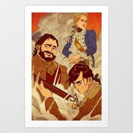 Sons of Setauket Art Print