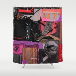 Marxmodul K Shower Curtain