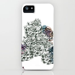Fat Flower/Triangle iPhone Case