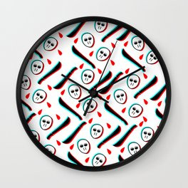 Pattern Jason Serial Killer, Wall Clock