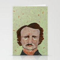poe Stationery Cards featuring Poe. by Arrolynn