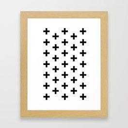La Cross Framed Art Print
