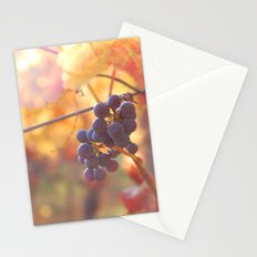 Fall Grapes Stationery Cards