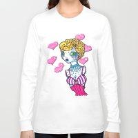 cinderella Long Sleeve T-shirts featuring Cinderella by McKenzie Davis