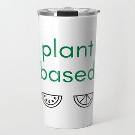 PLANT BASED - VEGAN Travel Mug