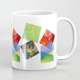 Painted Squares Jiggle Coffee Mug
