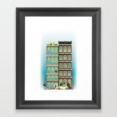 Time to Get up & Go to Work Framed Art Print