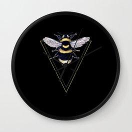 Vintage Queen Bee Minimalist Wall Clock