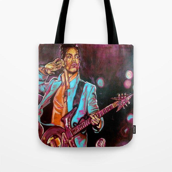 Purple Funk Tote Bag