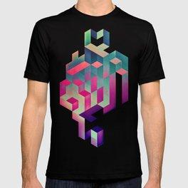 isyhyrtt dyymyndd spyyre T-shirt