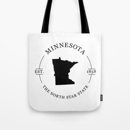 Minnesota - The North Star State Tote Bag