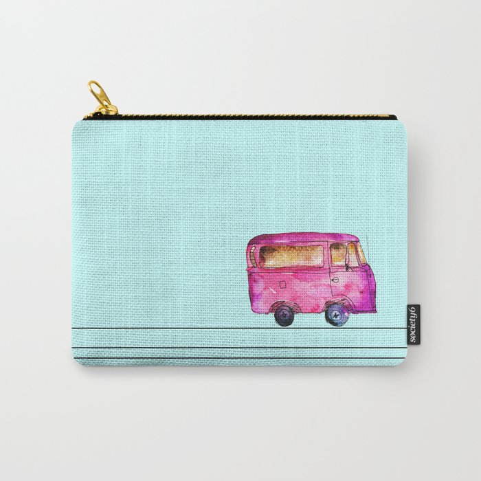 Little bus Carry-All Pouch
