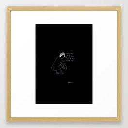Fragile Men III Framed Art Print