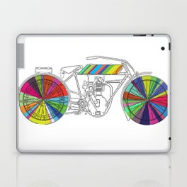 Rainbow Cycle Laptop & iPad Skin