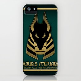 Anubis Mortuary iPhone Case