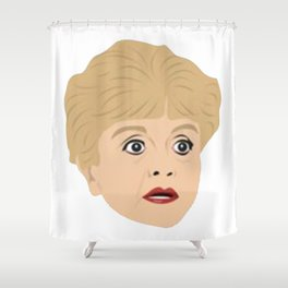 Jessica Fletcher Shower Curtain