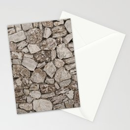 Old Rustic Stone Wall Stationery Cards