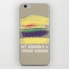 Veggie Burger  iPhone & iPod Skin
