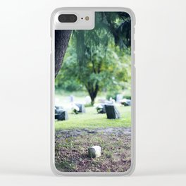 Sanitorium Hill 3 Clear iPhone Case