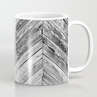 antique Mugs featuring Antique Wood by Patterns and Textures